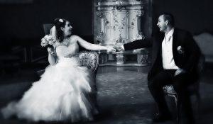Esküvői fényképezés kastélyban