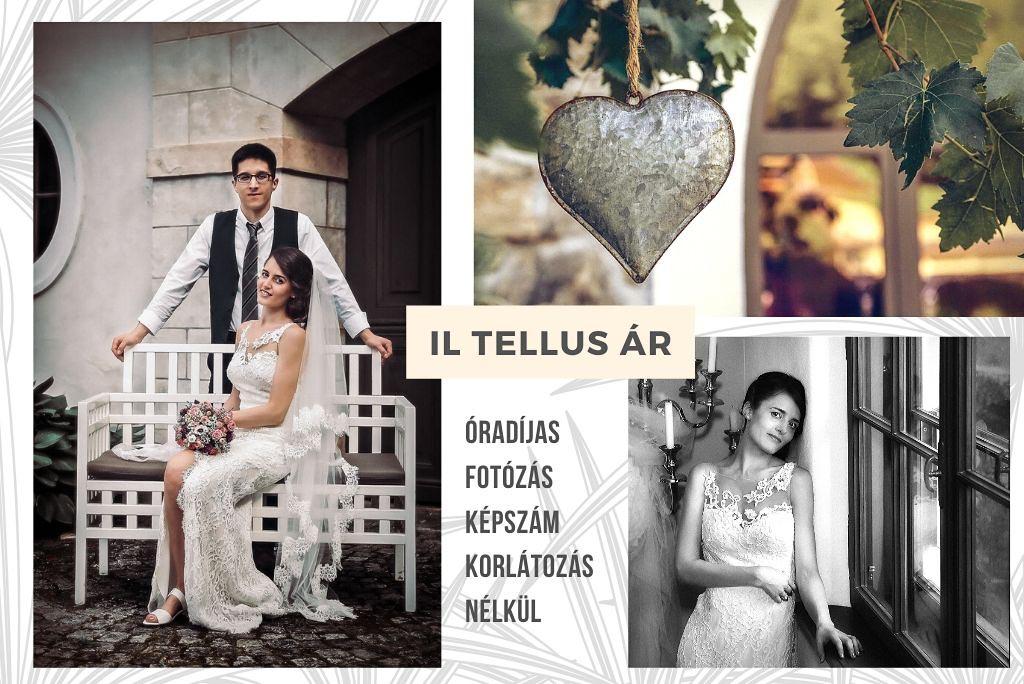 Esküvői fotózás árak Il Tellus