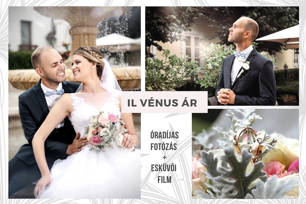 Esküvői fotózás árak Il Venus