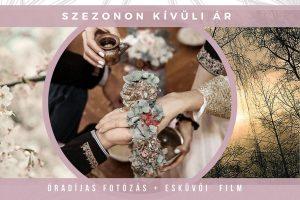 Esküvői fotózás és filmes árak