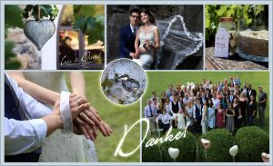 Esküvői köszönő kártya