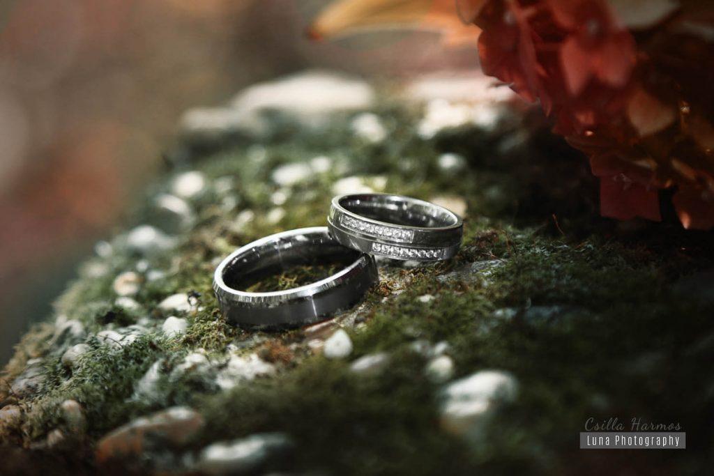 Jegyes fotózás, jegygyűrű