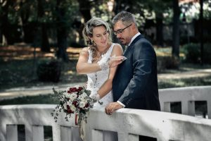 kreatív esküvői fotózás, Tatabánya