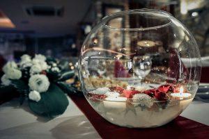 esküvői dekoráció fotózása