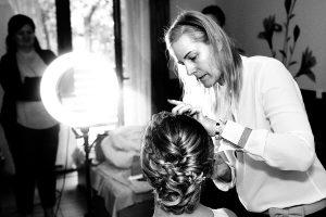 esküvői fotózás, készülődés, sminkes