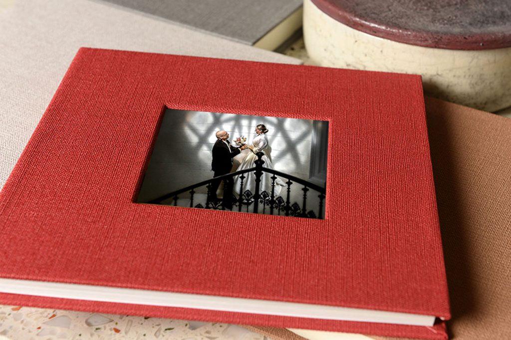 Prémium minőségű esküvői fotóalbum