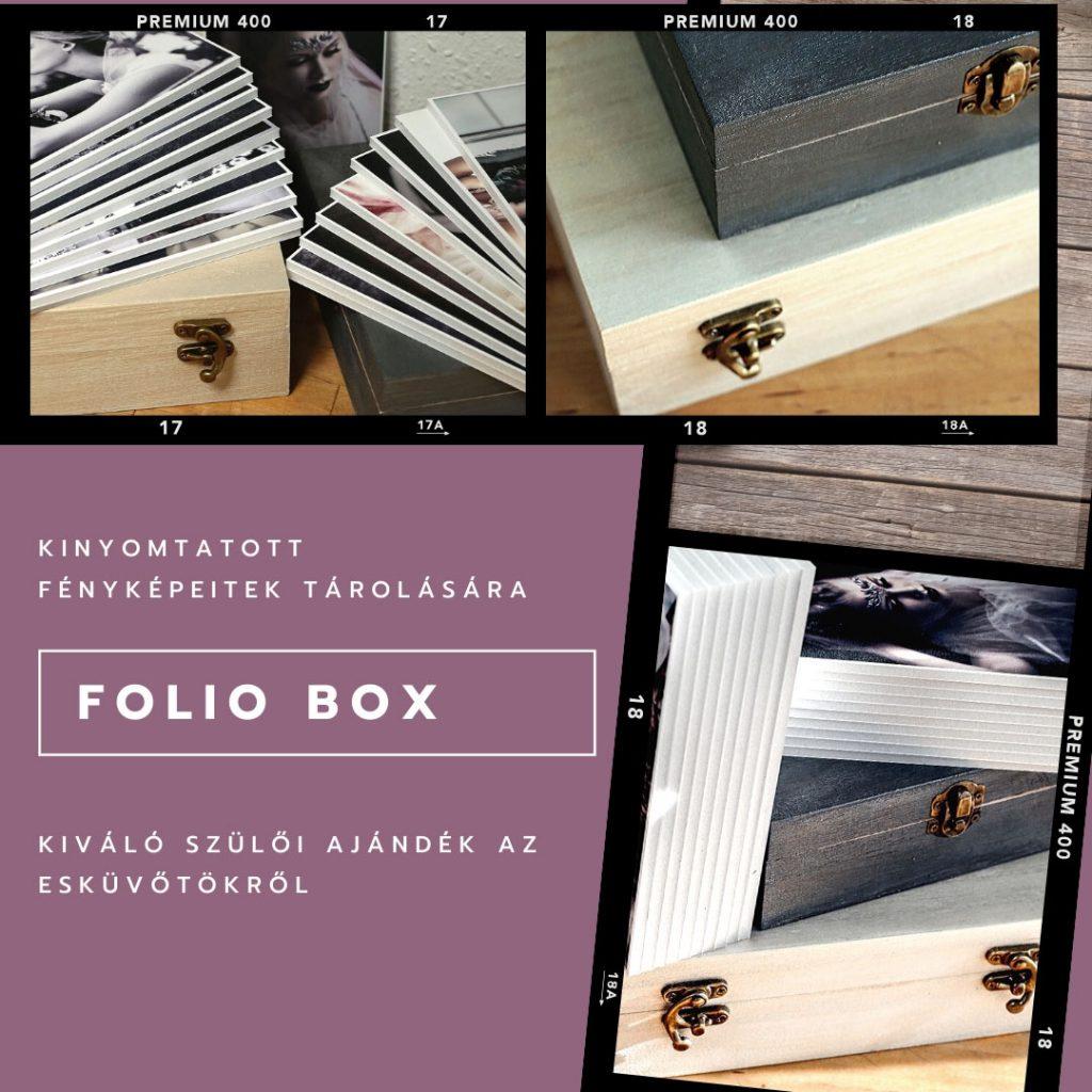 fa folio box habkarton nyomtatással