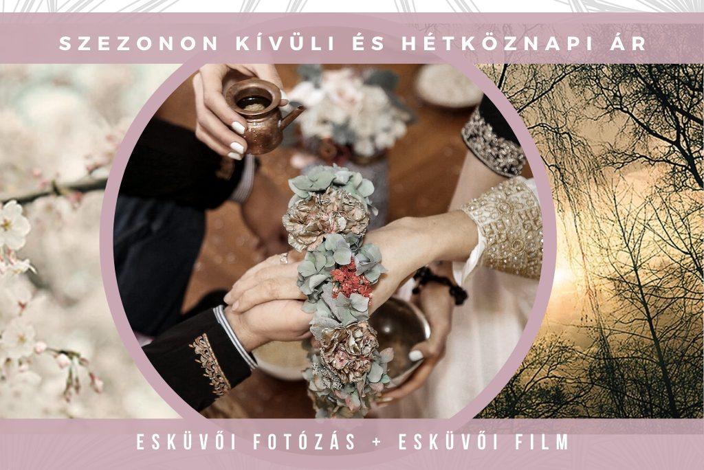 esküvői fotó film kedvezmény