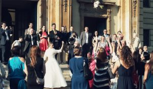 Esküvői szertartás Budai Ciszterci Szent Imre Templom